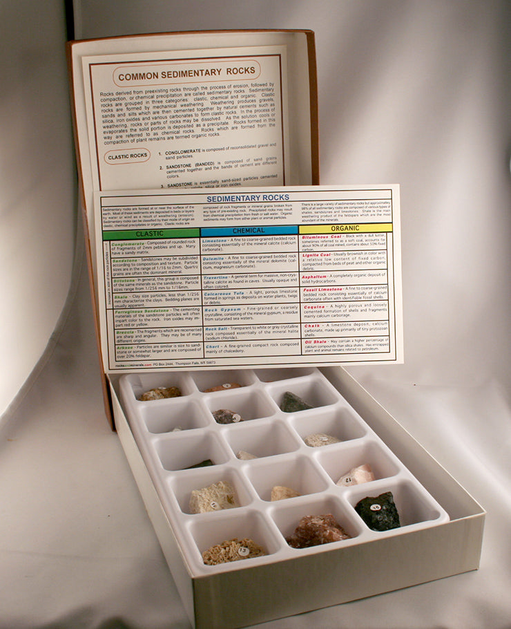 80006-Sedimentary Mineral Specimens - overview