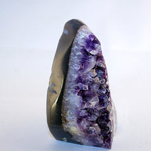 amethyst-polished agate-right side view