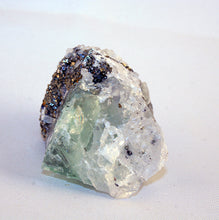 10123_fluorite on pyrite - front view