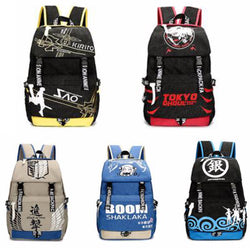 Premium High Capacity Backpack *5 Anime Options