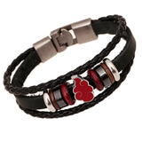 Fashion Leather Naruto Bracelet