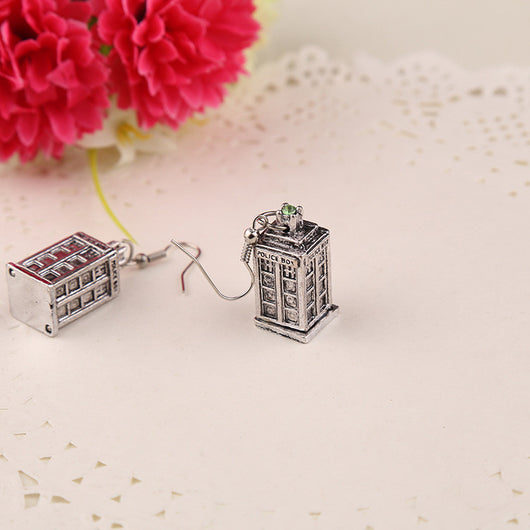 Doctor Who TARDIS Earrings