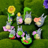 My neighbor Totoro 9 Piece Collectible Mini Figurine Set