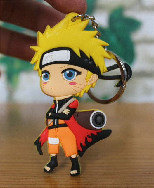 Naruto 2 Sided Figure Keychain *Choose From 5 Styles*