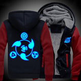 Naruto Hooded Sweater with Luminous Print *6 Styles*