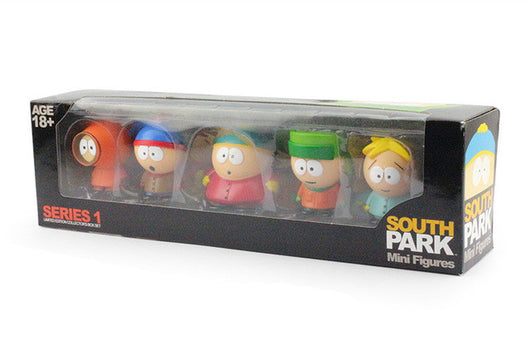 South Park Characters 5 Piece Collectible Set