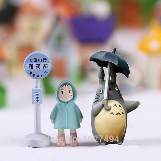My Neighbor Totoro 3 Piece Set Collectible Figures