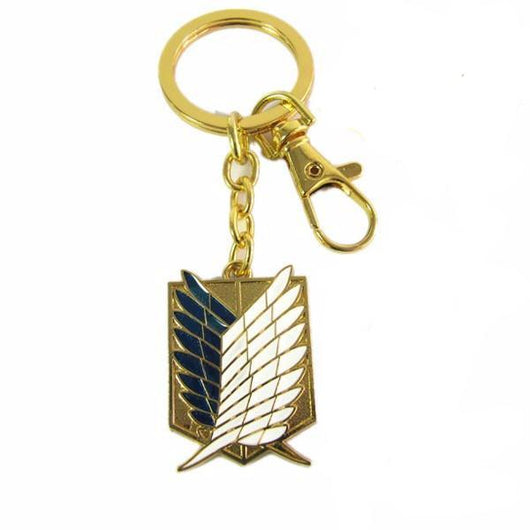 Attack on Titan Wings of Liberty Pendant (Keychain or Necklace)