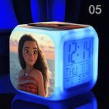 Moana Maui 7 Color Night Light Digital Alarm Clock*6 Style Choices*