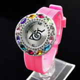 Lady's Naruto Konoha Wrist Watch