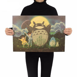 Totoro Decorative Kraft Paper Wall Sticker Poster*Not Available in Stores*