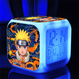 Naruto 7 Color Night Light Digital Alarm Clock*6 Style Choices*