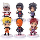 "Naruto 12 or 6 Piece Set 3"" Model Collection"