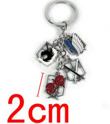Attack On Titan Multi Pendant Keyring