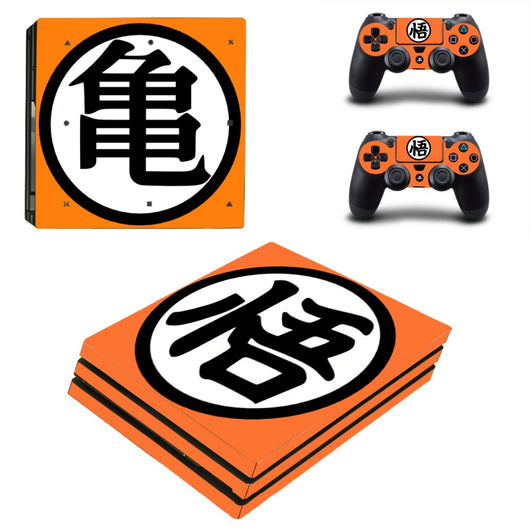 Dragon Ball Z PS4 Vinyl Decal Package