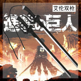 Attack on Titan Full Size Cosplay 2 Sword Set