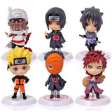 Naruto Collectible Figurine 6 Piece Set