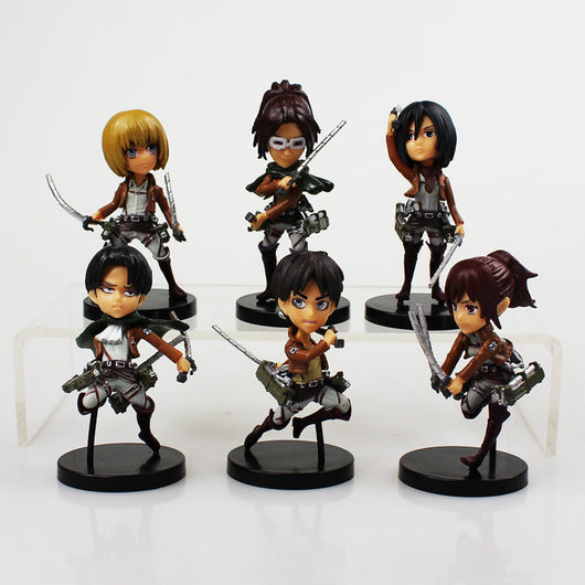 Attack on Titan Mini Figure Set