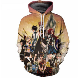 Fairy Tail Hooded Sweater