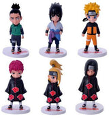 Naruto Collectible Figure 6 Piece Set (choose style)