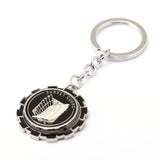 Attack on Titan Wings of Freedom Round Keyring
