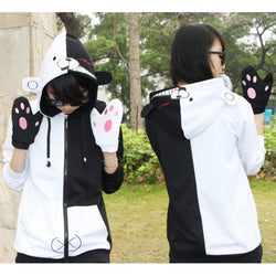 Danganronpa Monokuma Sweater & Gloves