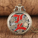 Death Note Pendant Pocket Watch