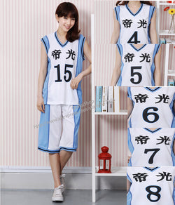 Kuroko no Basket Uniform Set *5 Options