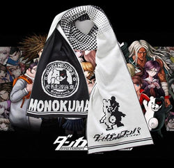 Winter Scarf: Attack on Titan or Danganronpa Monokuma