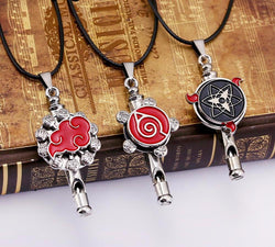 Naruto Whistle Necklace or Keychain *6 Options