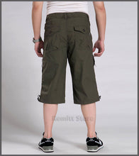 Knee Lenght Cargo Shorts for Men (Size: M,L,XL,XXL,XXXL,4XL,5XL,6XL,7XL)