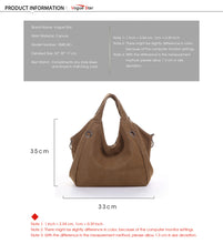 Female Vintage Canvas Bag