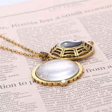 Yin and Yang Magnifying Glass Necklace
