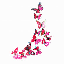 12PCS 3D Butterfly Wall Decals