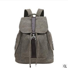 Canvas Vintage Casual Women Daily Backpack