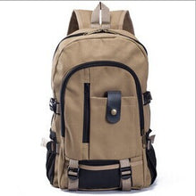 Men's/Women Vintage Look Canvas Backpack