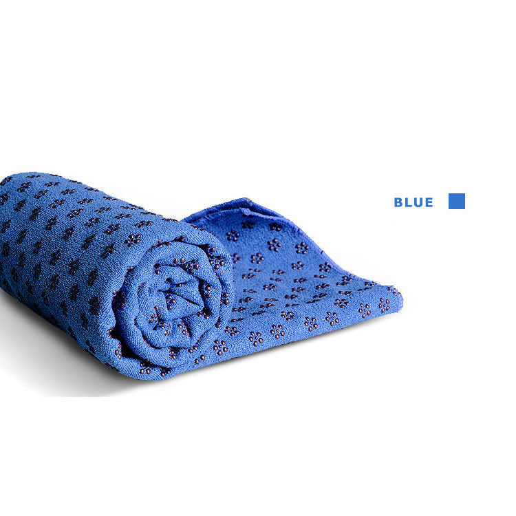 Non Slip Yoga Mat Cover Towel With Mesh Carry Bag