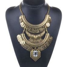 Tibetan (Boho) Antique Coin Necklace for Women