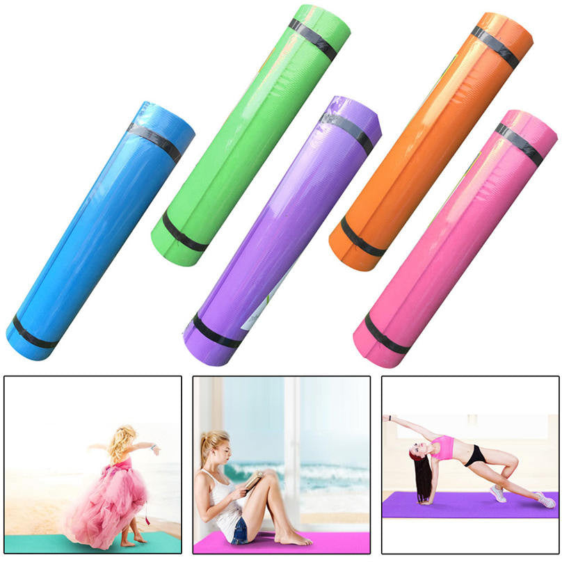 4MM Non-Slip Thick Durable Yoga Mat