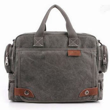 Casual Canvas Men's Shoulder Bags with Strap