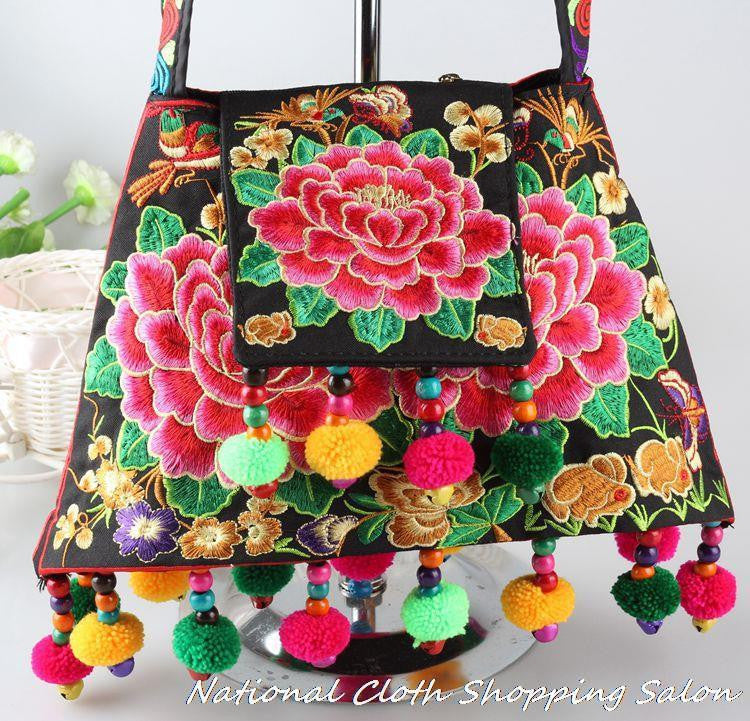 Original Ethnic Embroidered Handbag for Women