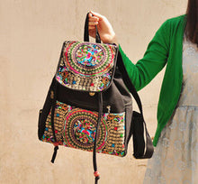 Backpack For Women with Original National Embroidery