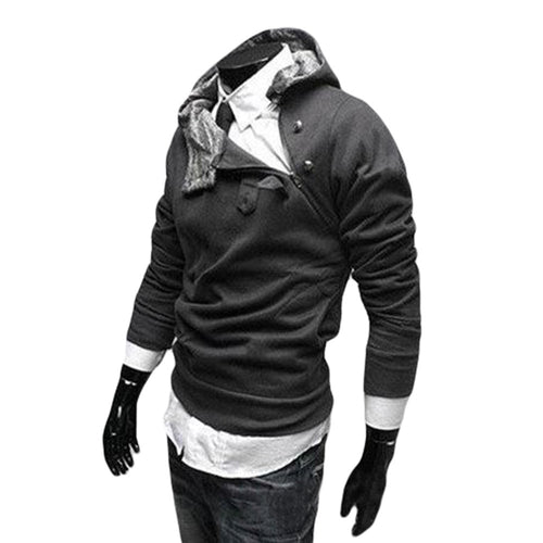 NEW Hot High Collar Men's Hoodie  Sweatshirt