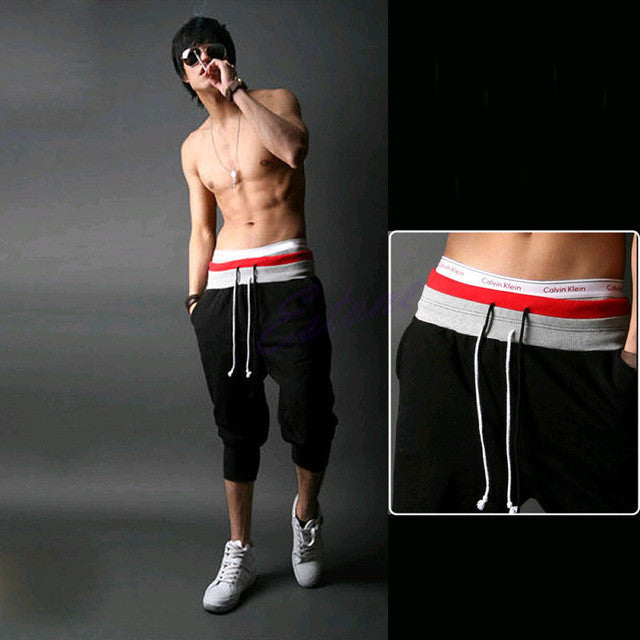 Low Crotch Loose Casual Sporting Shorts for Men