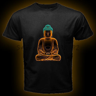 Buddha Black T-Shirt for Men