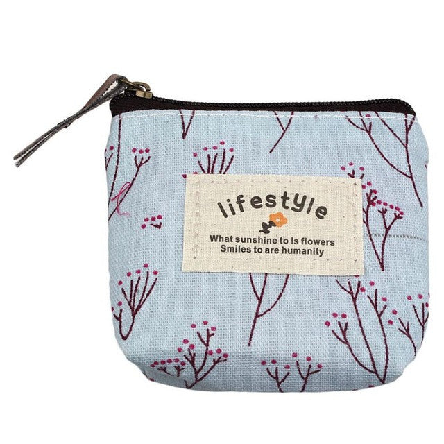 Japan Canvas Womens Coin Purse
