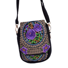 Canvas Boho Style Ethnic Embroidery Purse