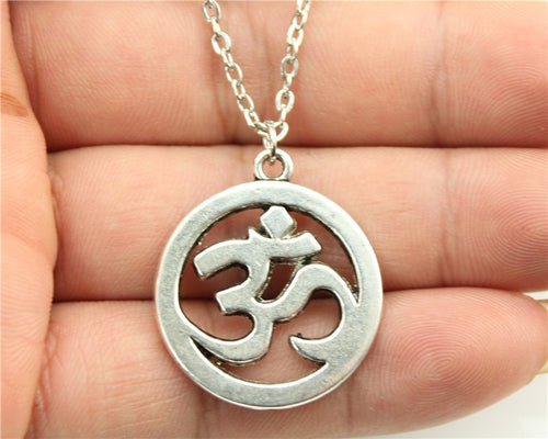 25mm OM Pendant Necklace