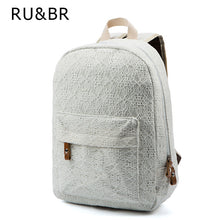 Women Lace Canvas Backpack