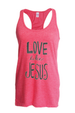 Love Like Jesus Tank